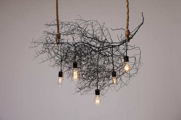 Same Tree Horizontal Native Chandelier