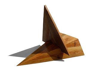Fashion Inspired geometric modern lounge chair by Same Tree