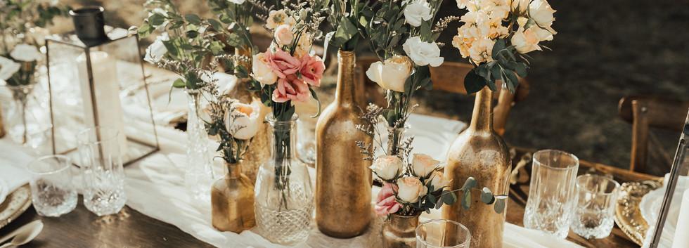 Mercury Glass Vases