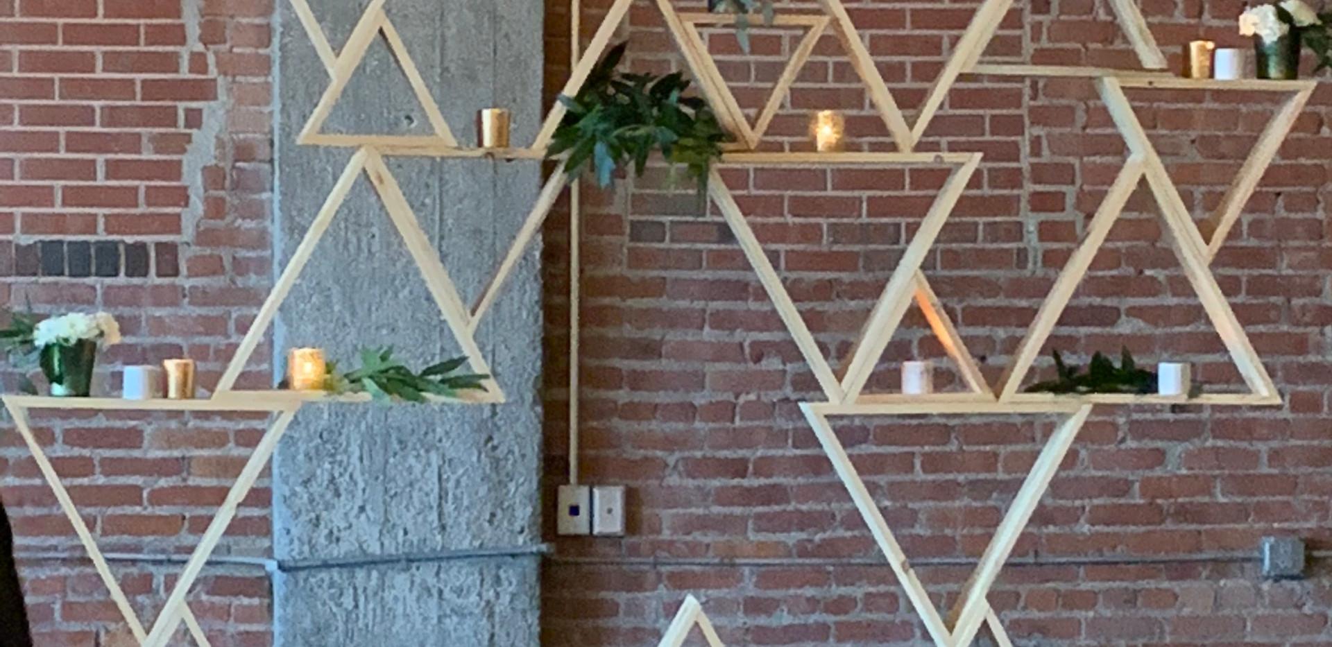 Triangle Backdrop