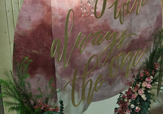 Hand Painted Backdrops