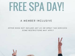 Free Spa Day For Friends & Family