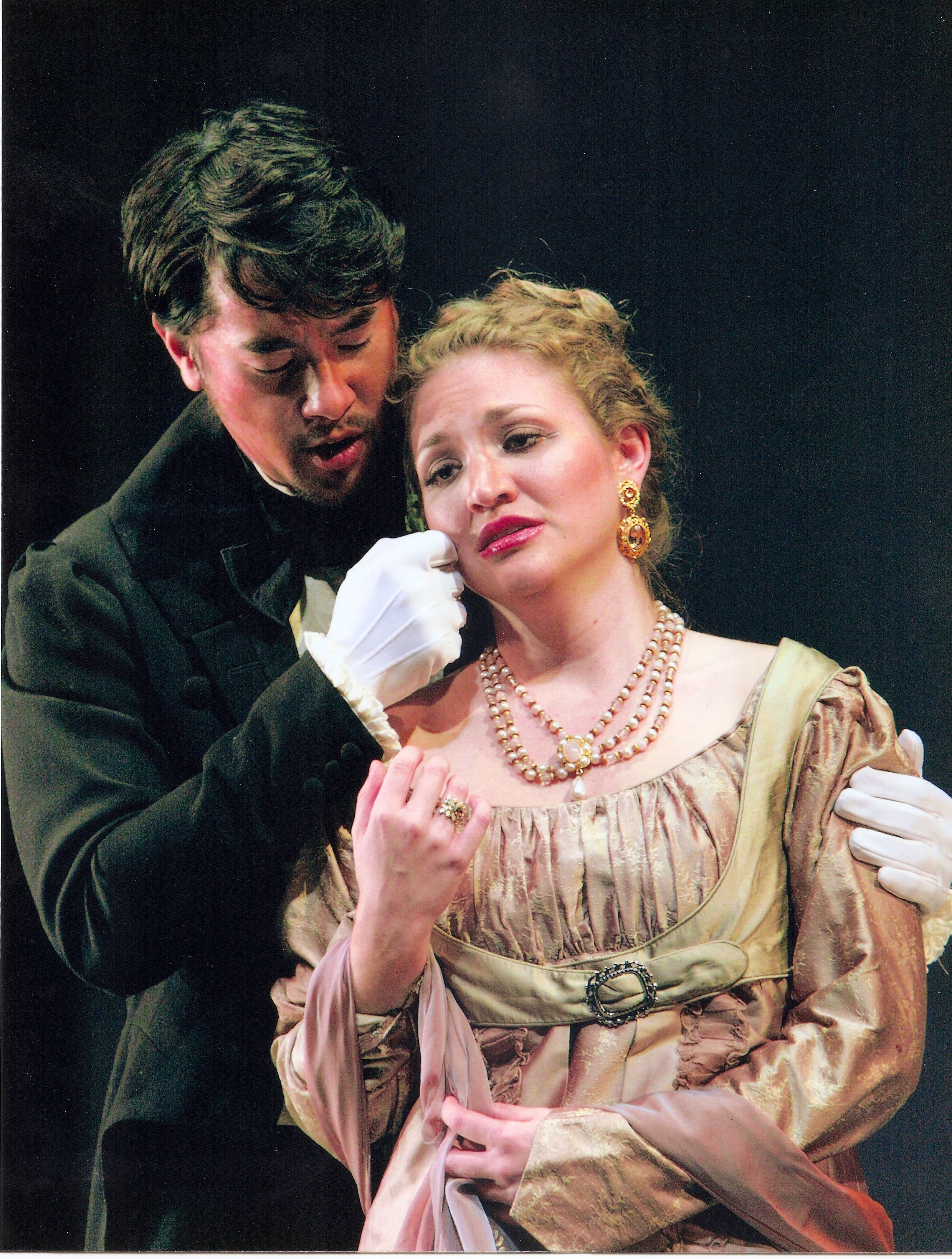 Tatyana and Onegin