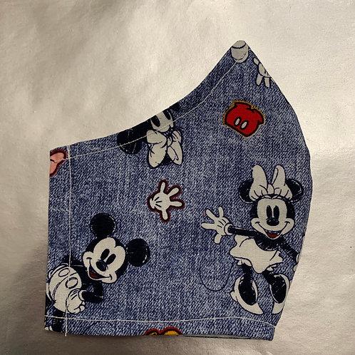 Mickey & Minne on Denim