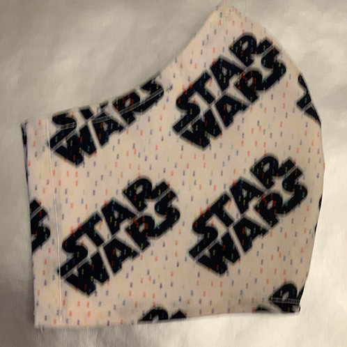 Star Wars Black Logo on White