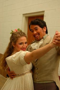 Dance practice, Onegin