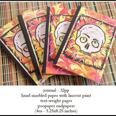 Skull Journals by David Dickason