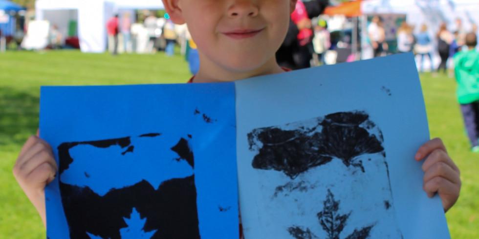 Leaf Printing Event