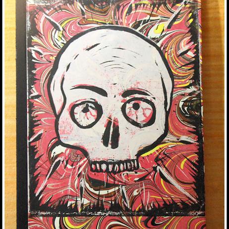 Skull Journal by David Dickason