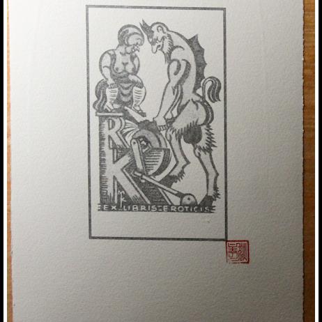 Ex Libris Erotics 2 by David Dickason