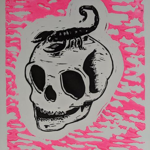 Skull & Scorpion by Matt Reno