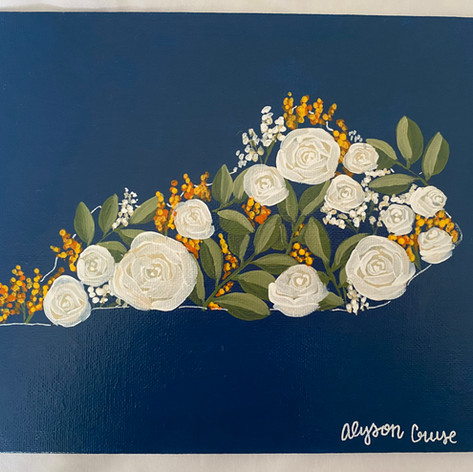 Alyson Cruse Kentucky Filled Flowers