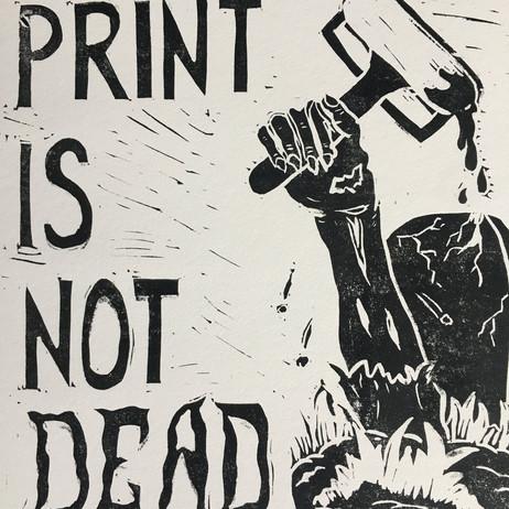 Print Is Not Dead by Matt Reno