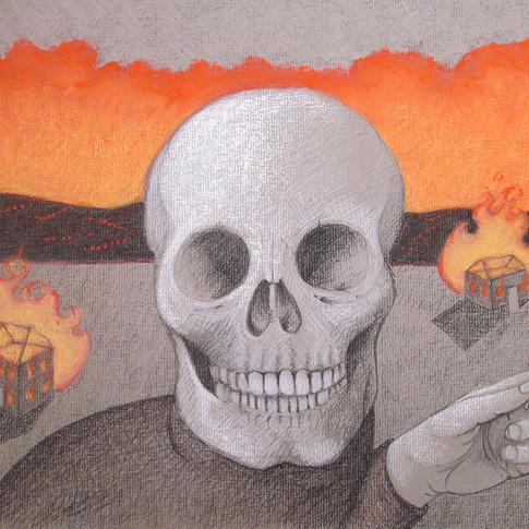 Skull by Carole Winters