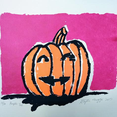 Pumpkin Time by Stephen Wiggins
