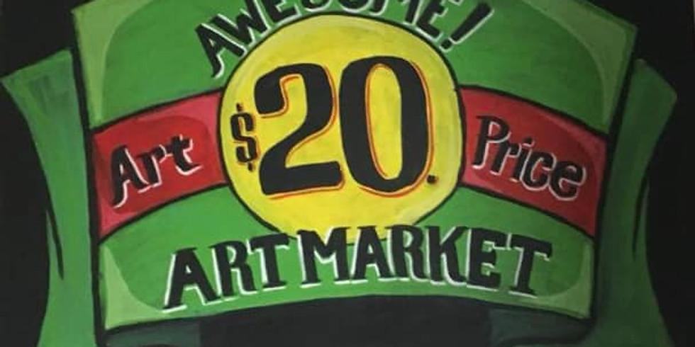 Lexington's $20 Art Market