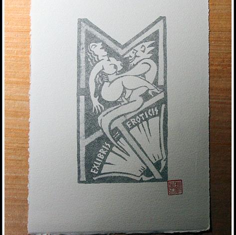 Ex Libris Erotics by David Dickason