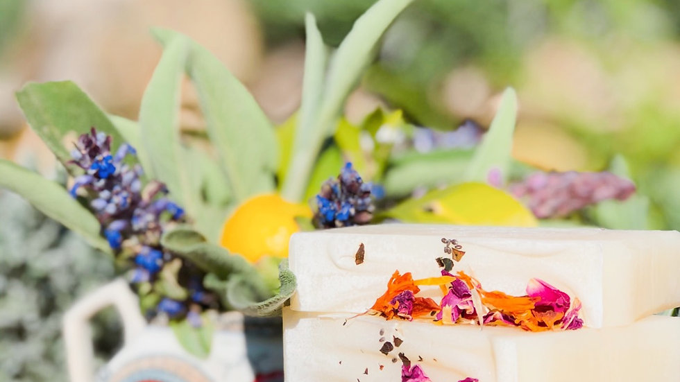 Handmade Mystic Patchouli, Petit Grain and Sage Soap N°16
