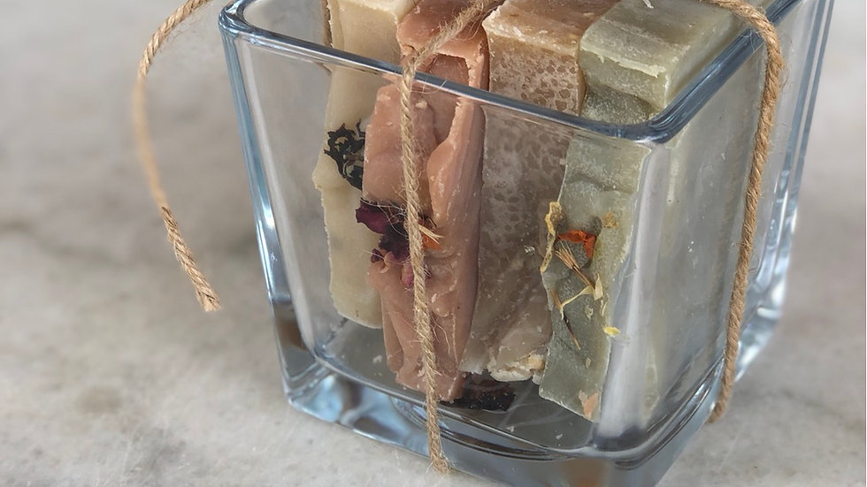 4 Soap Glass gift