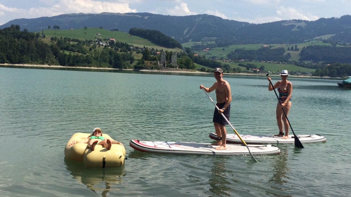 Paddle pour deux jours