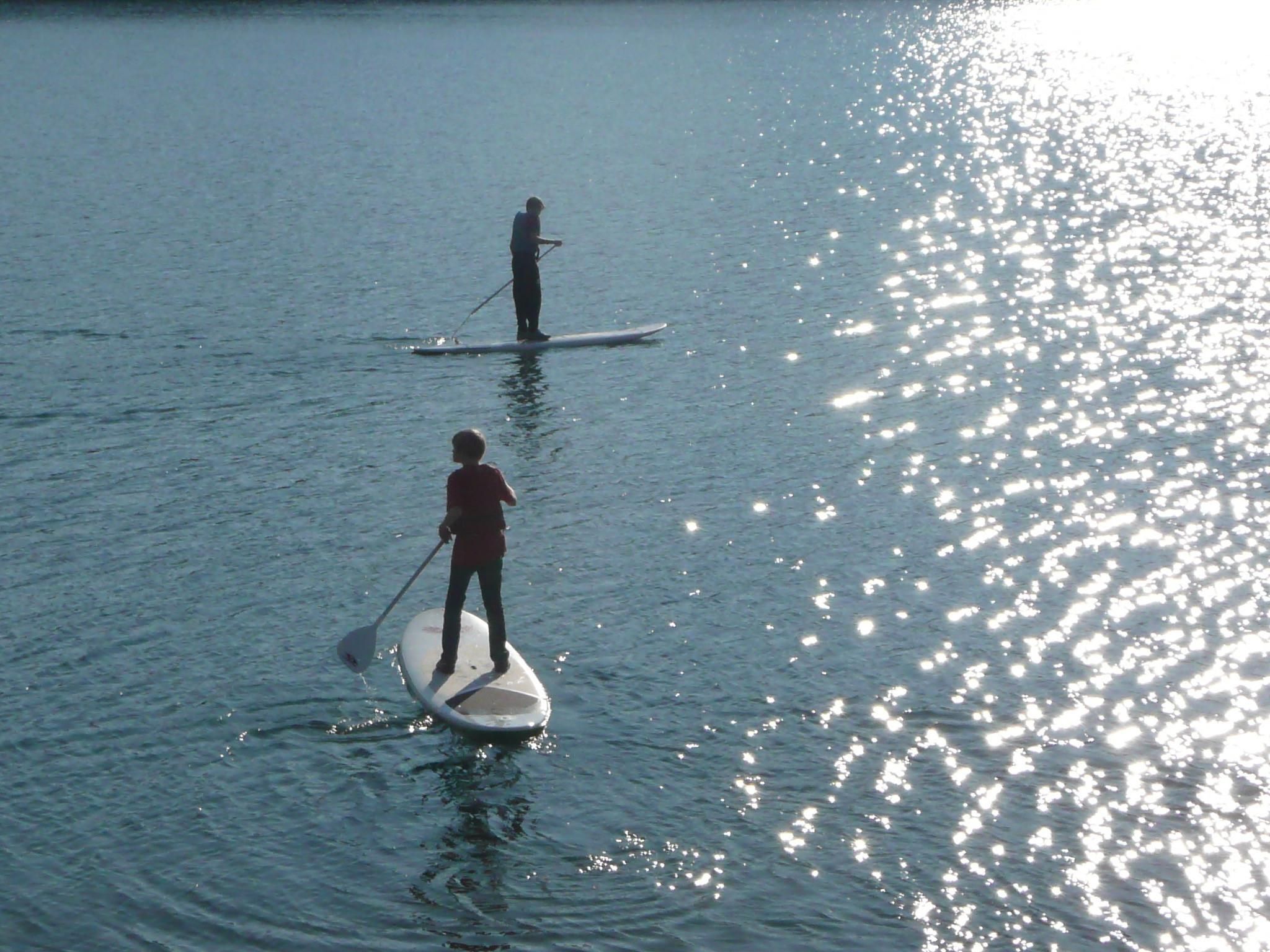 paddle à l'heure