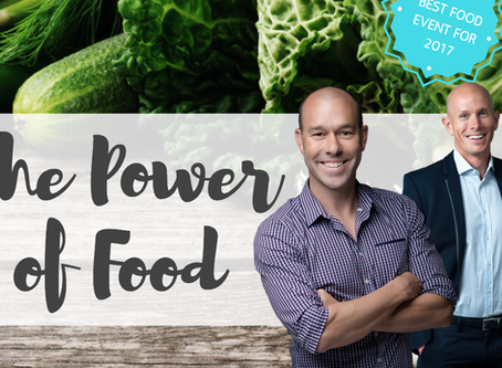 OUR BIG EVENT – THE POWER OF FOOD