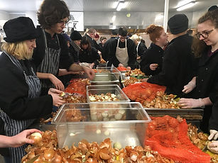 Calais Light volunteers kitchen