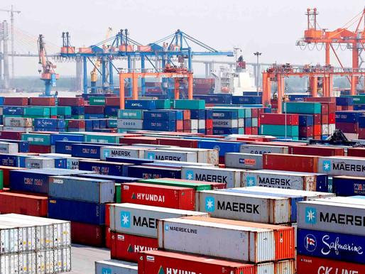 日本発北米向けコンテナ輸送、スペースひっ迫 Space for marine container transportation from Japan to North America is tight