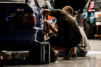 Steve working on car Cota.jpeg