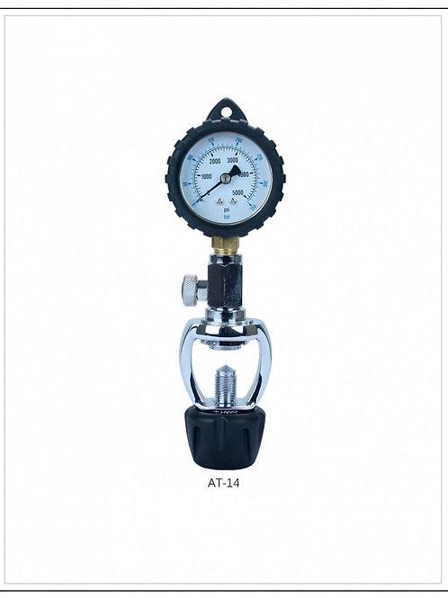 Mini dive pressure checker