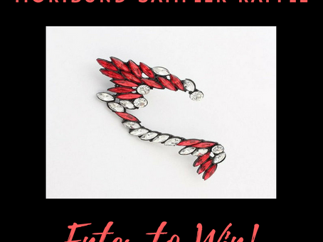 Enter the Moribund Raffle! Win a Fiery Fae Ear Cuff!