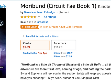 MORIBUND: Amazon Best Seller!