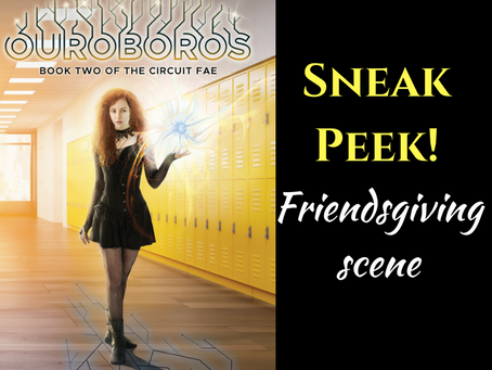 Sneak Peek! OUROBOROS: Friendsgiving Scene