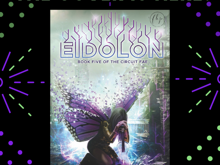 EIDOLON: The Cover is Here