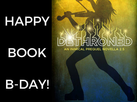 Happy Book Birthday, DETHRONED!