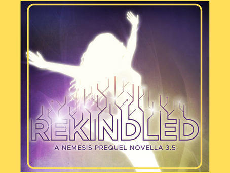 Happy Book Birthday: REKINDLED!