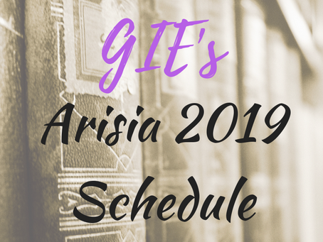 Arisia 2019 Schedule
