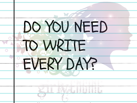 Writing Every Day?