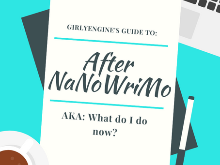 After NaNoWriMo