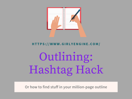Writing Tip: Hashtag Hack