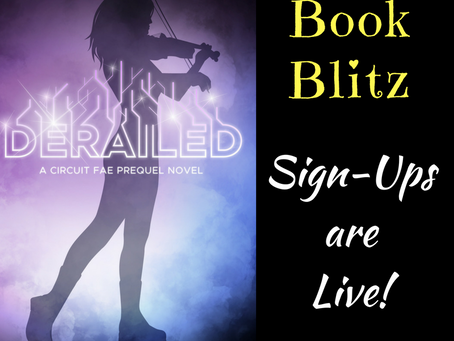 Derailed Book Blitz: Sign-Ups Live!