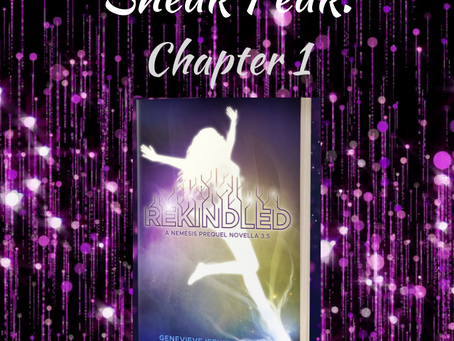 Sneak Peak: Read Chapter 1 of REKINDLED!