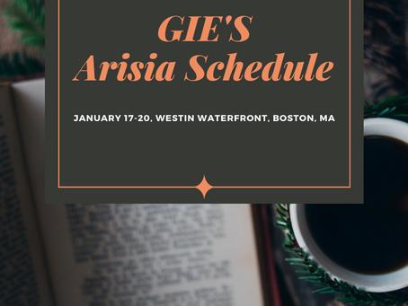 GIE's ARISIA 2020 Schedule