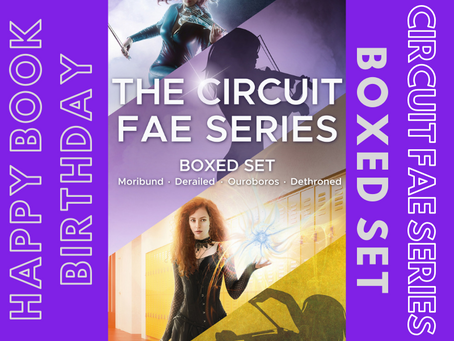 The CIRCUIT FAE Boxed Set is Here!