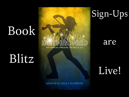 Get DETHRONED! Join the Book Blitz