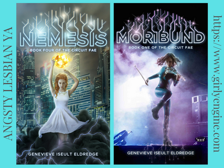 NetGalley Alert! NEMESIS and MORIBUND