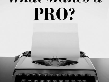 What Makes a Pro?