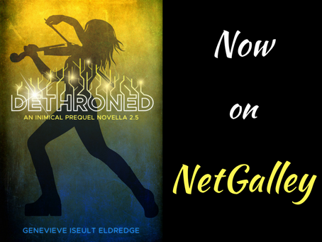 DETHRONED: Now on NetGalley