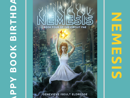 Happy Book Birthday: NEMESIS!
