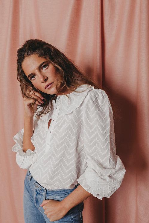 Blusa Touquet Bordada Mujer